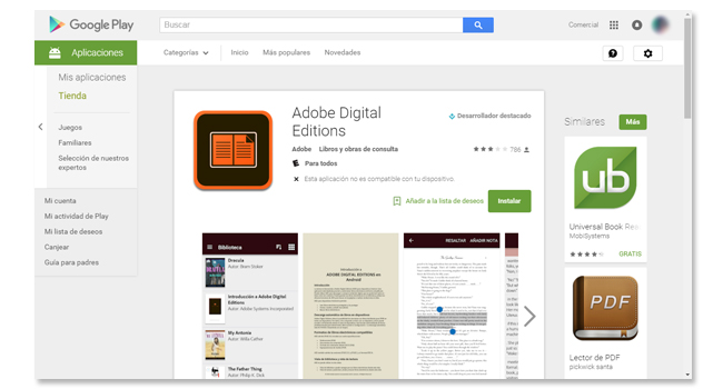 adobe digital editions android